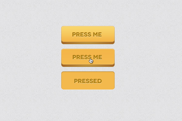 3D Button PSD Freebie by bestpsdfreebies