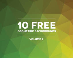 10 Free High Definition Polygonal Backgrounds by bestpsdfreebies