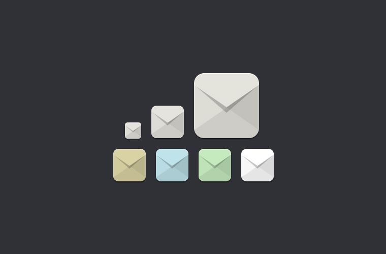 Free Email Icons by bestpsdfreebies