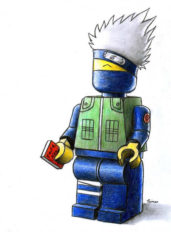 Lego Kakashi by Tseimar on DeviantArt