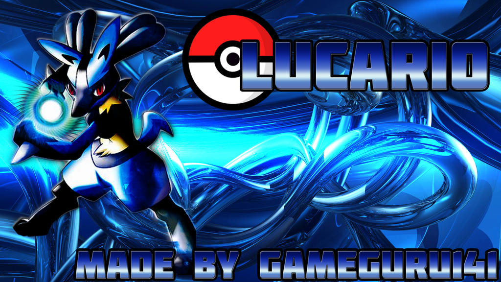 gallery for pokemon wallpaper lucario hd