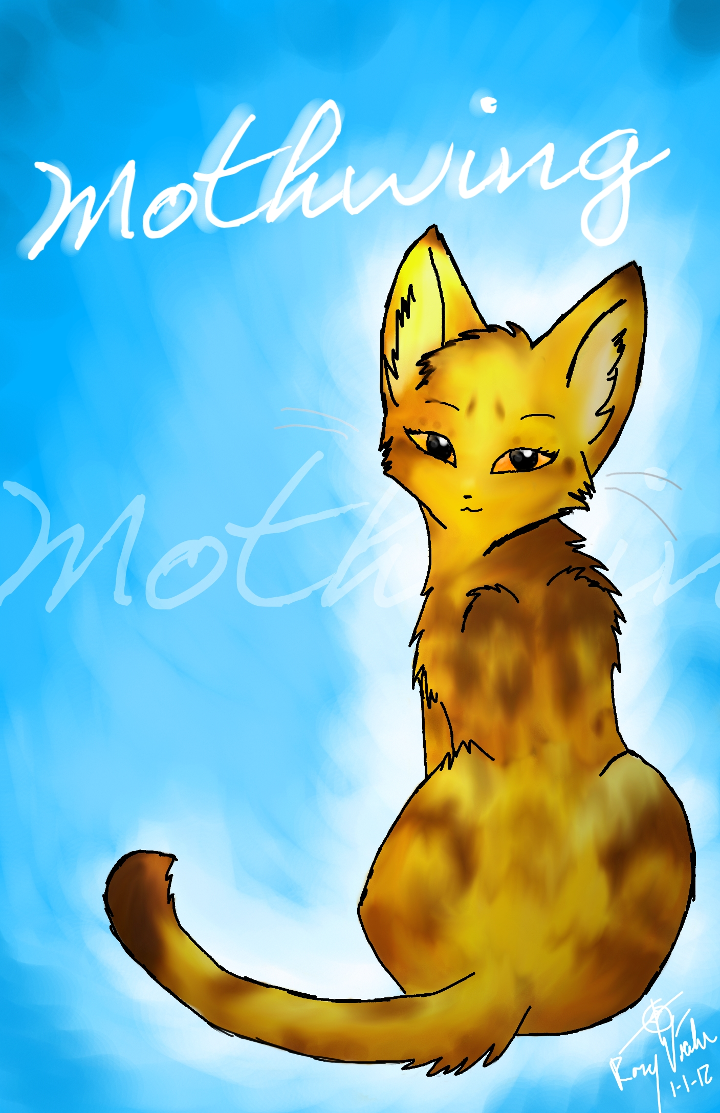 Warrior Cats Mothwing And Willowshine ... Mothwing by leftys...