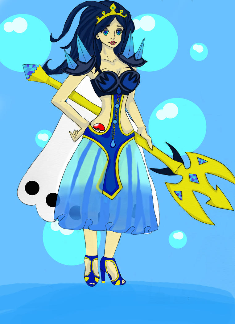 empoleon gijinka by tentaclekaddums on deviantart