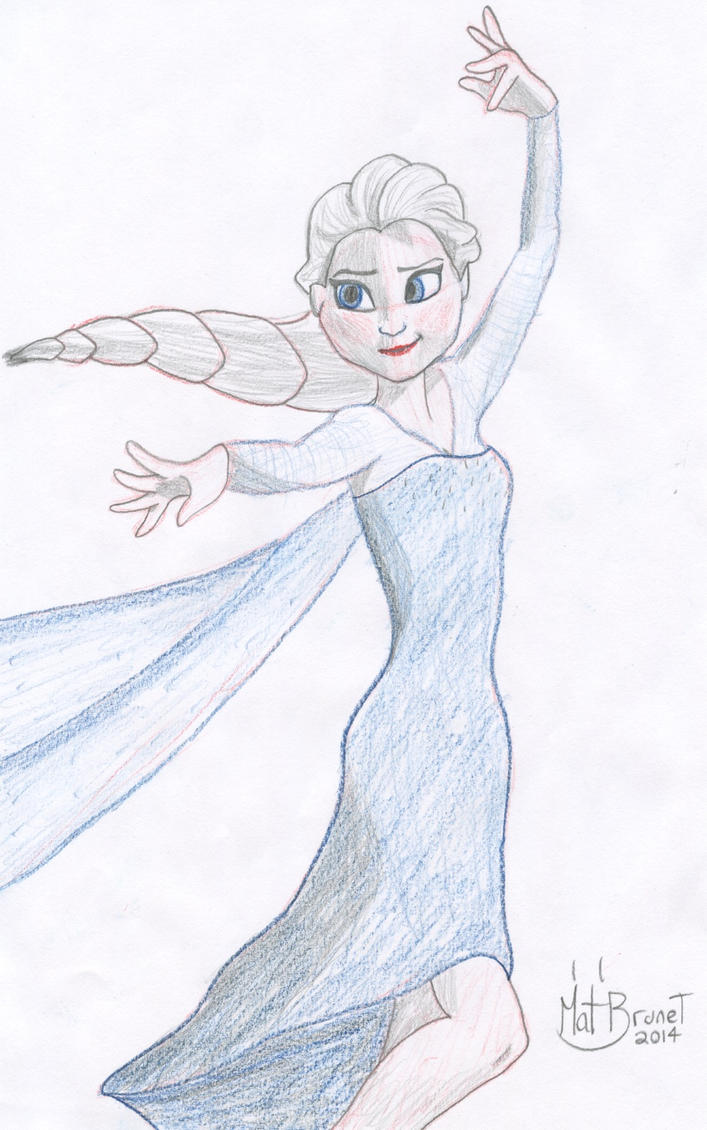 Patreon Commission: Elsa by AniMat505