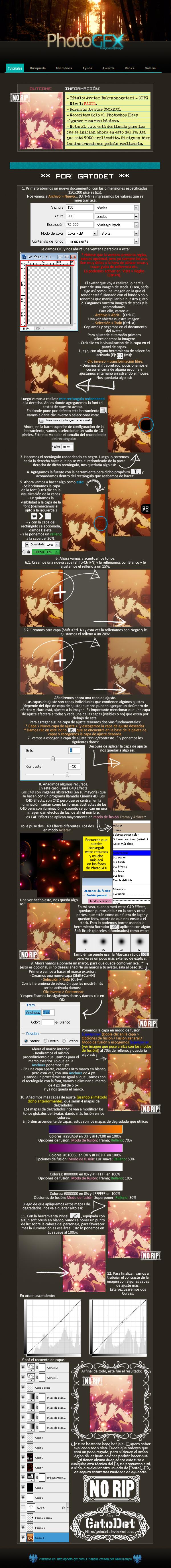 [Tutorial] Avatar Facil Tuto___bakemonogatari_avatar_by_gatodet-d42v964