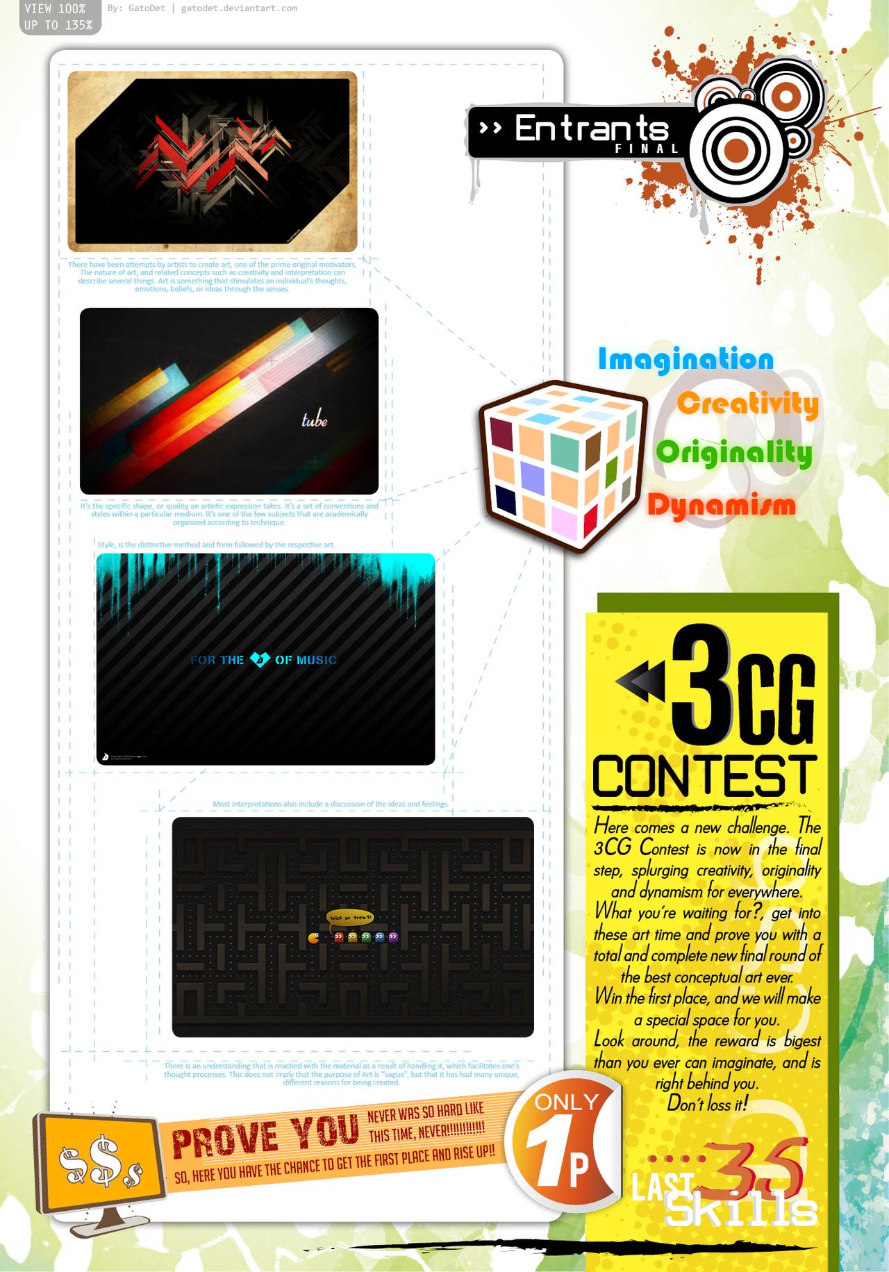 3cg contest edesign by gatodet on deviantart for Edesign login