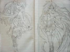 Two Girls - Fanart