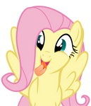 Fluttershy Likes Glass