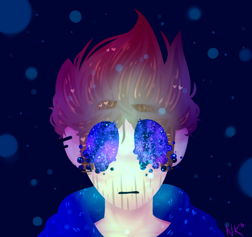 Trapped in the galaxy || Eddsworld by Nikkisses