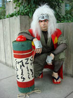 Jiraiya and the Toad Scroll by Kenshiro-FDP