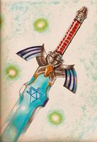 Legend of Zelda -Master Sword by Kenshiro-FDP