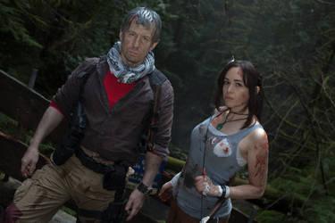 Tomb Raider: Lara Croft and Conrad Roth