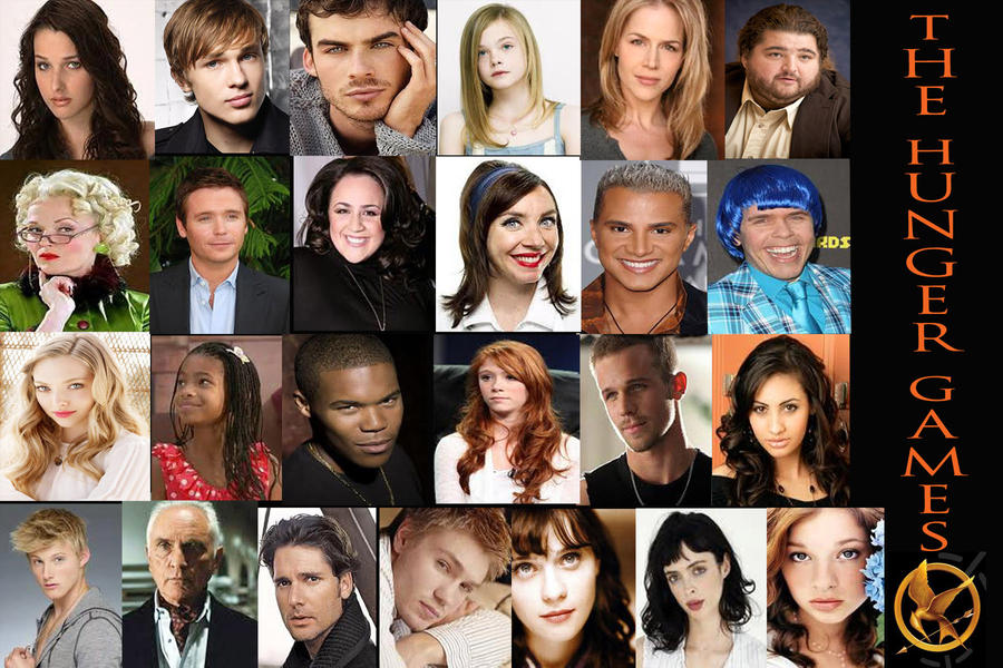 MY Hunger Games cast 1...