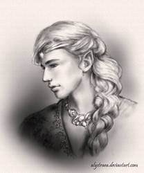 Finrod (sketch) by alystraea