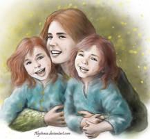 Redheads by alystraea