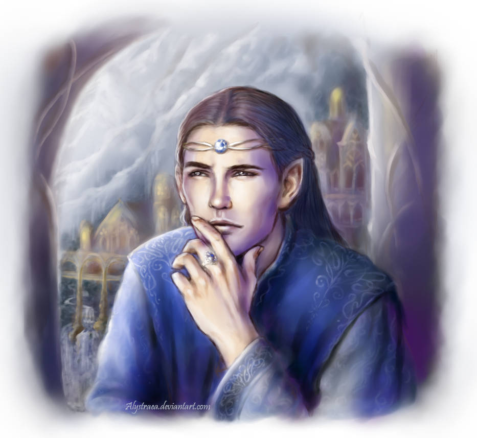 Elrond by alystraea