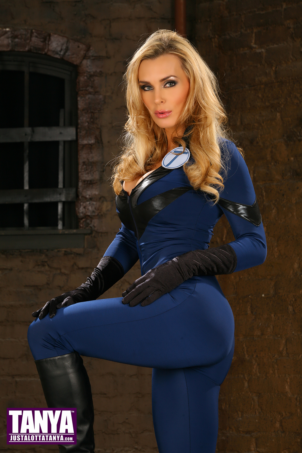 Tanya Tate Invisible Woman Cosplay by TanyaTate