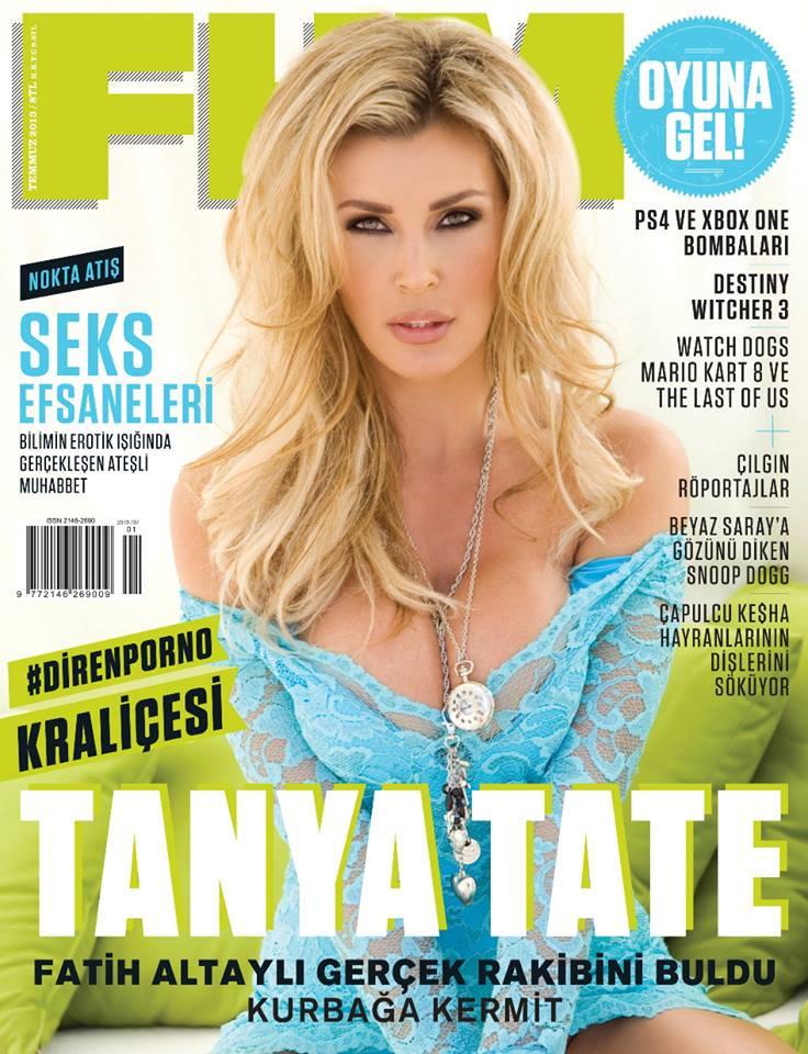 Tanya Tate FHM Magazine July 2013