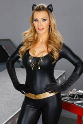 Tanya Tate Julie Newmar Style Catwoman Cosplay by TanyaTate