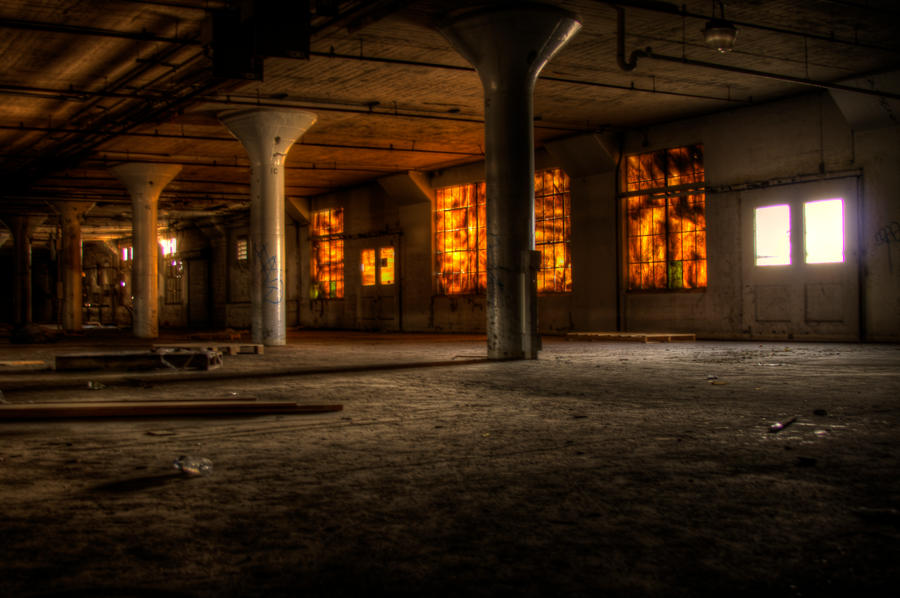 Abandoned Factory 05 by dementeddiva23