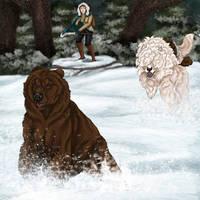 RoH - Run Bear Run! by Zroya21