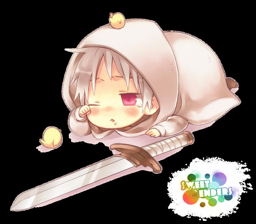 PNG - Chibi Prussia