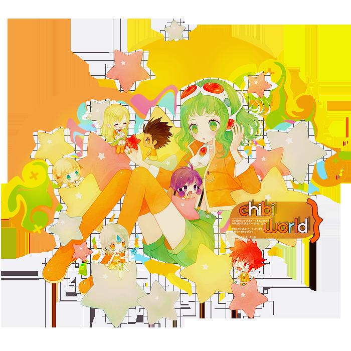 Chibi World by teriani16