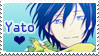 Stamp - Noragami [Yato] by teriani16