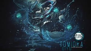 Demon Slayer - Giyu Tomioka Wallpaper