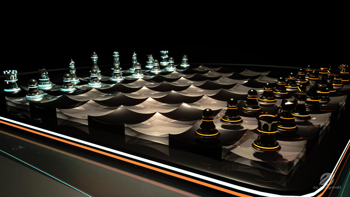 Futuristic Chess Set 2 By Izaspringintveld On Deviantart