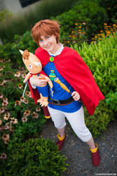 Oliver and Mite- Ni No Kuni