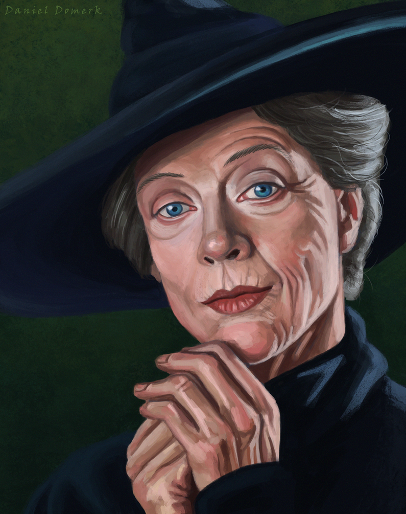 Minerva McGonagall by Domerk