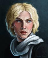 Young Gellert Grindelwald (sketch) by Domerk