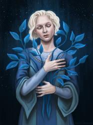 Blue grass by Domerk