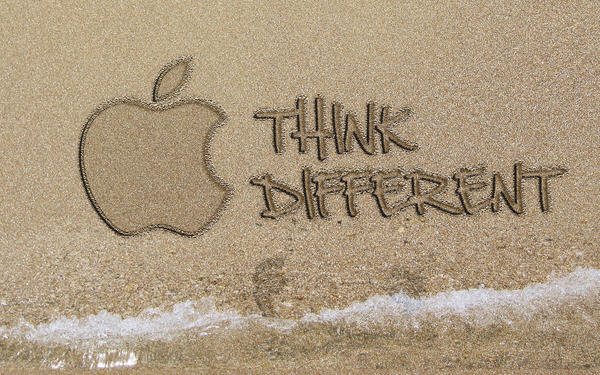 Apple On The Beach by colaja