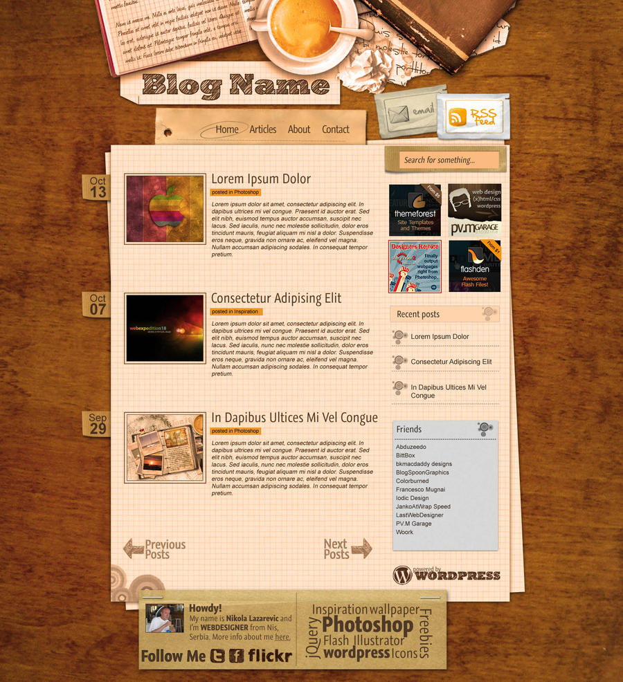 blog layouts - anuvrat.info