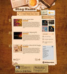 Caffe-Break Themed Blog Layout