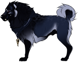 Cujo Dog Reference by Kayxer