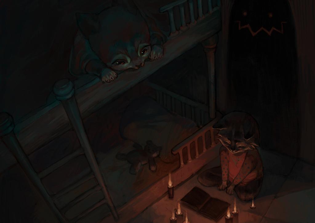 night entertainment by Zanamie