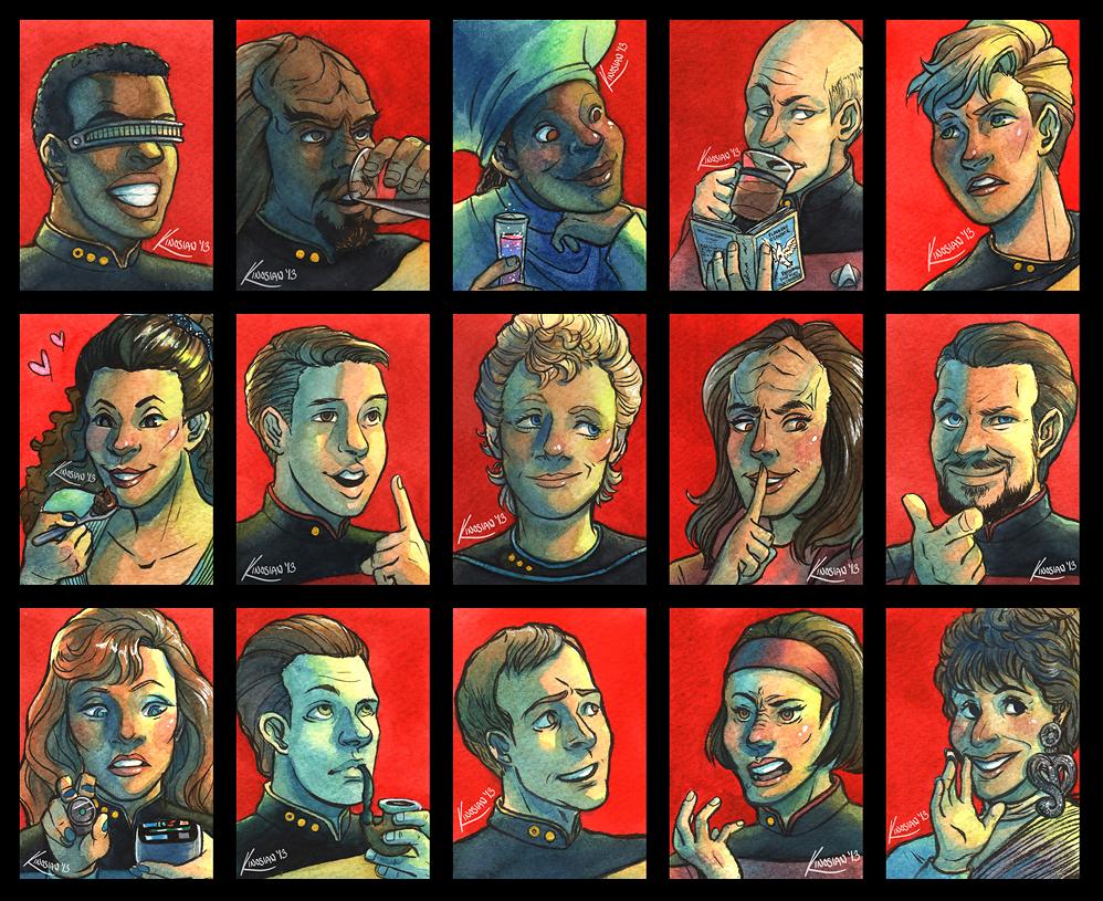 Everybody comes to Ten-Forward! by JamieKinosian
