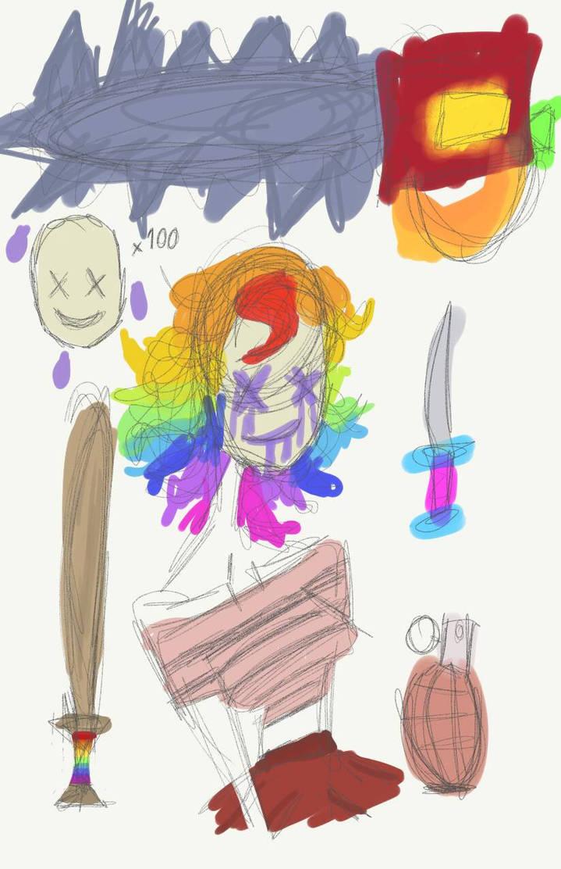 clown starterpack by MihlleOahlle