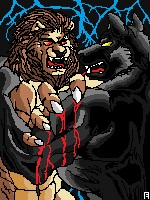 Lion VS Wolf by...