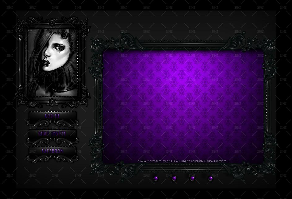 Custom Homepage Design for Doxii @ IMVU by SinzIMVU on