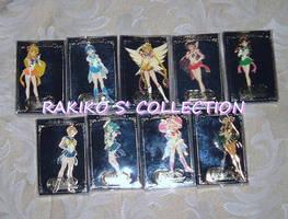 9 Sailor Moon world keychains by RakikoHime