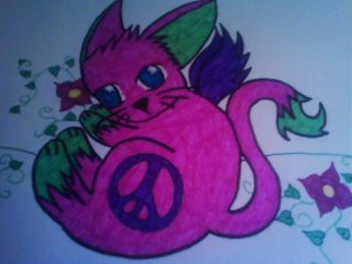 My Groovy Kitty by ShylittleNamine