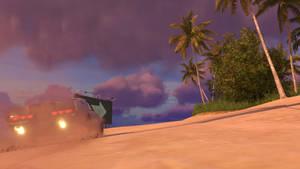 Trackmania 2 Lagoon Seaside at Sunset 6 [4K]