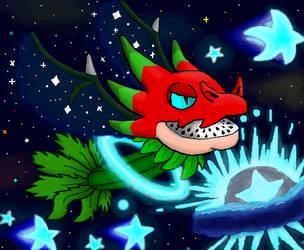 PvZ Heroes: Deep Space Dragonfruit by Gianluca850