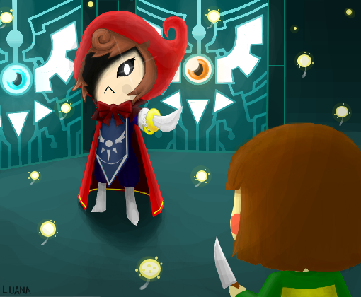 Undertale RED: Chara vs Red by Gianluca850