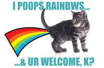 I Poops Rainbows by PaulSizer