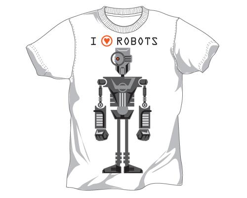 I LOVE ROBOTS by PaulSizer